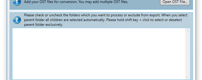 Step - 1 how to convert ost to pst