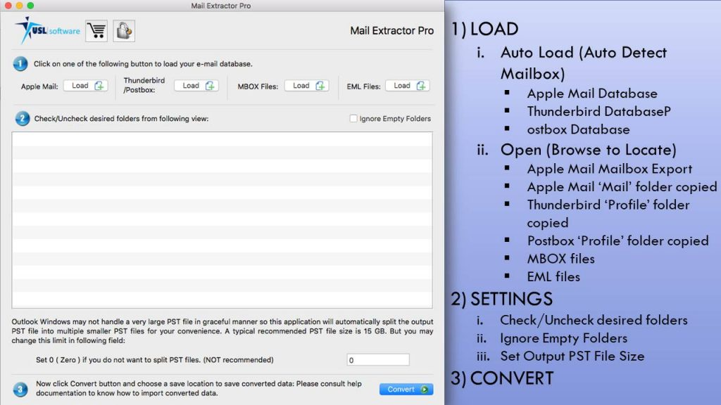 Apple Mail Export Conversion